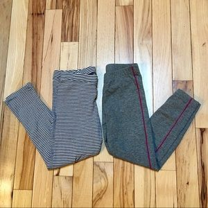 Tea Collection Two Pairs Girl's Leggings Size 5
